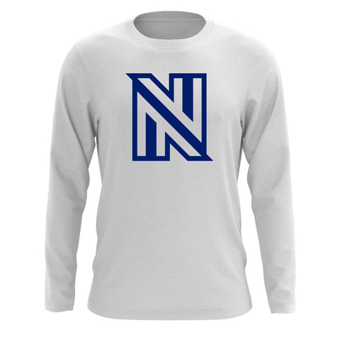 NuFo Icon Long Sleeve - Nvy on Wht