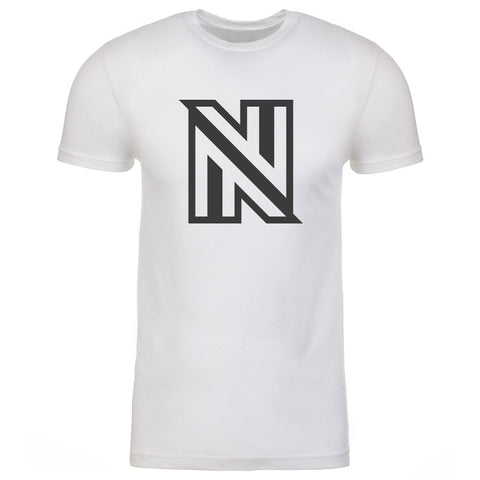 NuFo Icon Short Sleeve - DGry on Wht