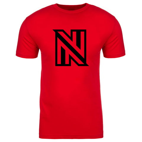 NuFo Icon Short Sleeve - Blk on Red