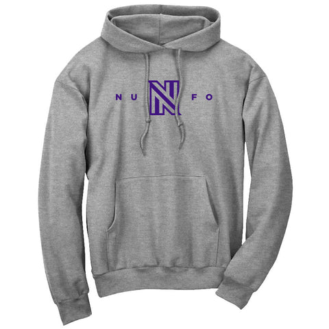 NuFo Logo Hoodie - Prp on SprtGry