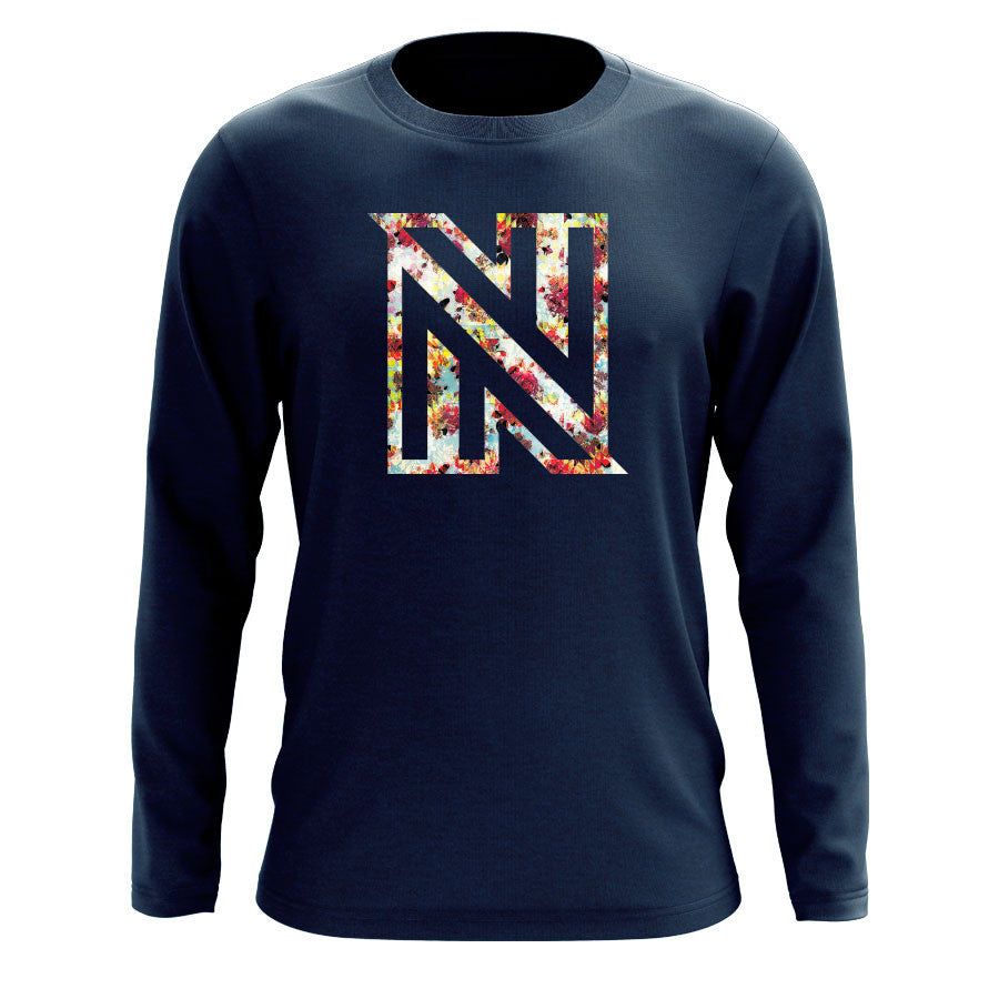 NuFo Painting FX Long Sleeve - Nvy