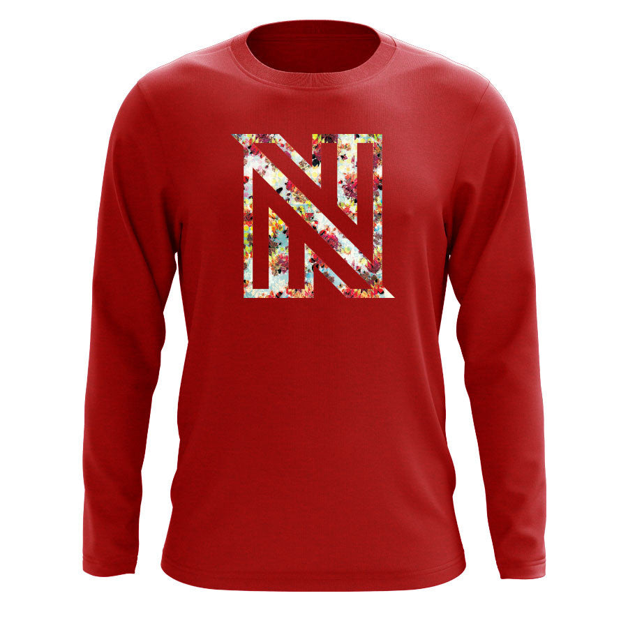 NuFo Painting FX Long Sleeve - Red