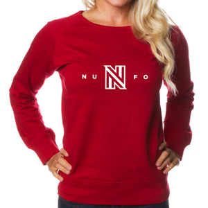 NuFo Logo Girls Crewneck