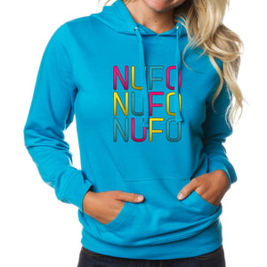 NuFo Stacked FX Girls Hoodie