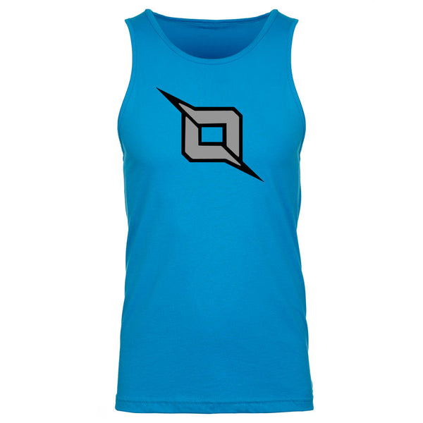 Octane Icon Tank Top - BlkGry on Trq