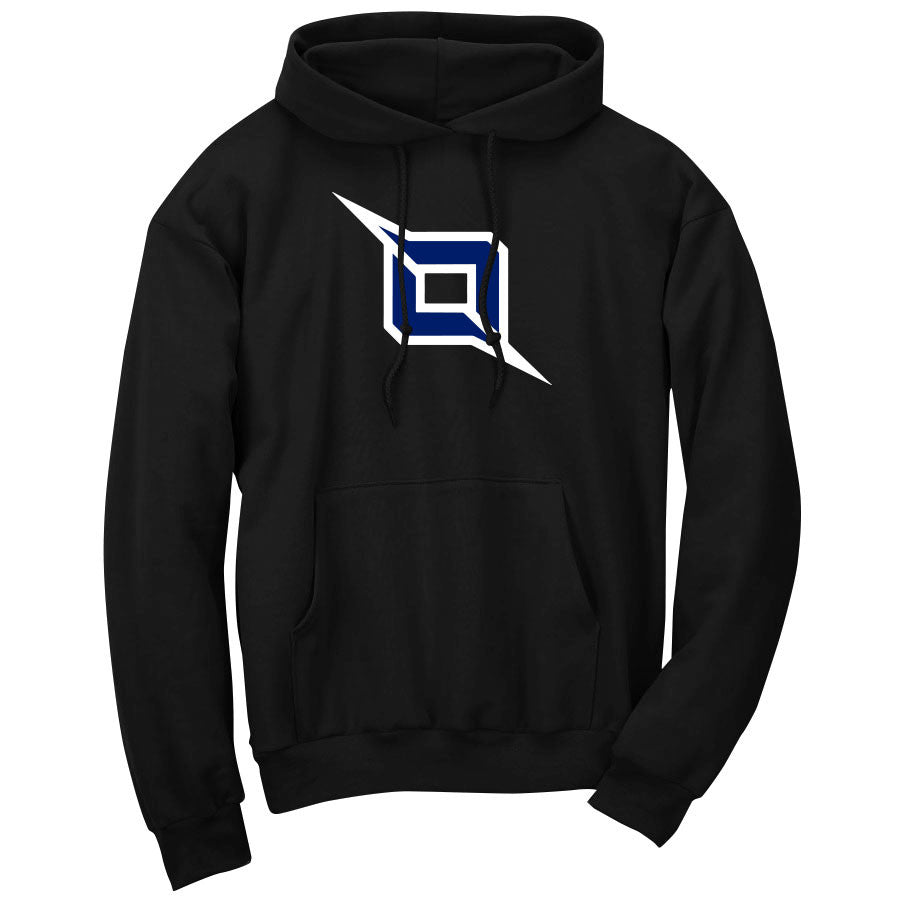 Octane Icon Hoodie - WhtNvy on Blk