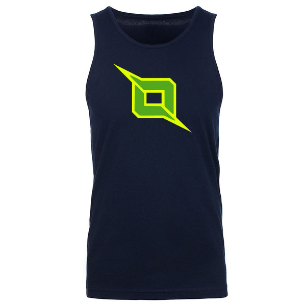 Octane Icon Tank Top - NYelGrn on Nvy
