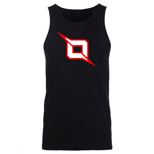 Octane Icon Tank Top - RedWht on Blk