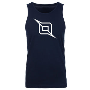 Octane Outliner Tank Top - Wht on Nvy