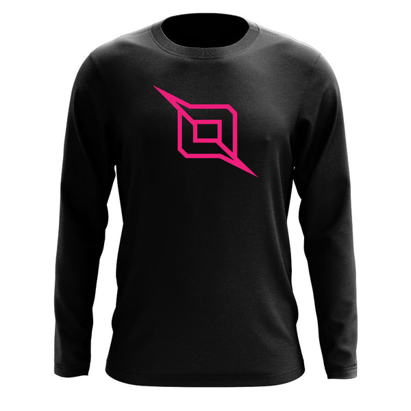 Octane Outliner Long Sleeve - NPnk on Blk