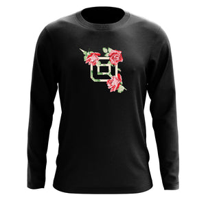 Octane Rose FX Long Sleeve - Blk