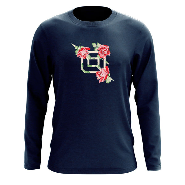 Octane Rose FX Long Sleeve - Nvy