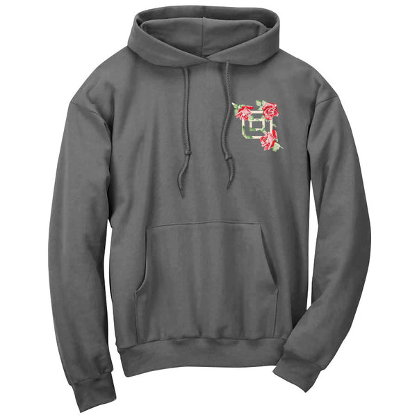 Octane Rose Heart FX Hoodie - Chcl
