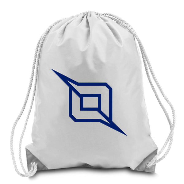 Octane Outliner Cinch Bag - Nvy on Wht