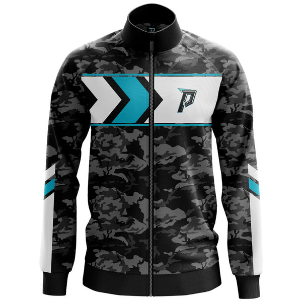 Custom Panik Gaming Premium Label Performance Zip Up Track Jacket