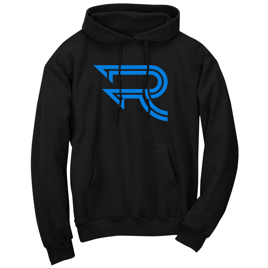 Replays Icon Hoodie - NBlu on Blk