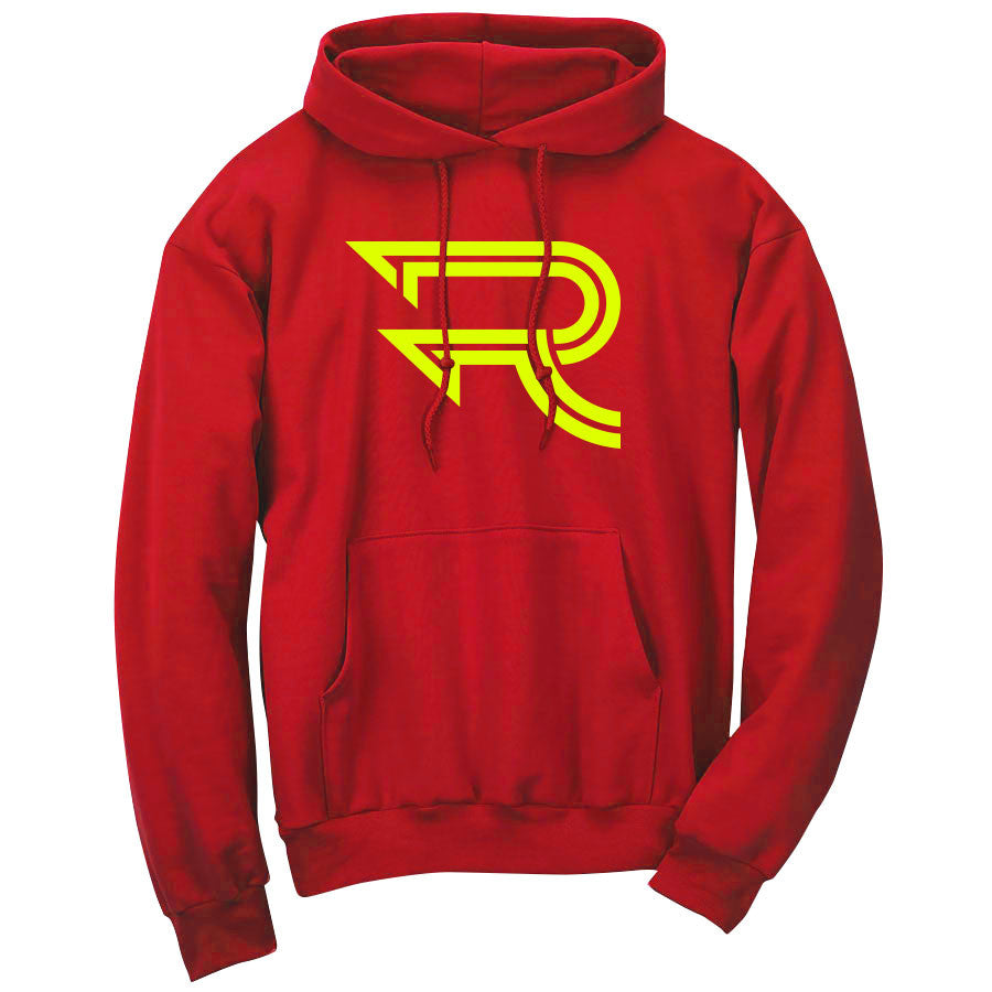 Replays Icon Hoodie - NYel on Red