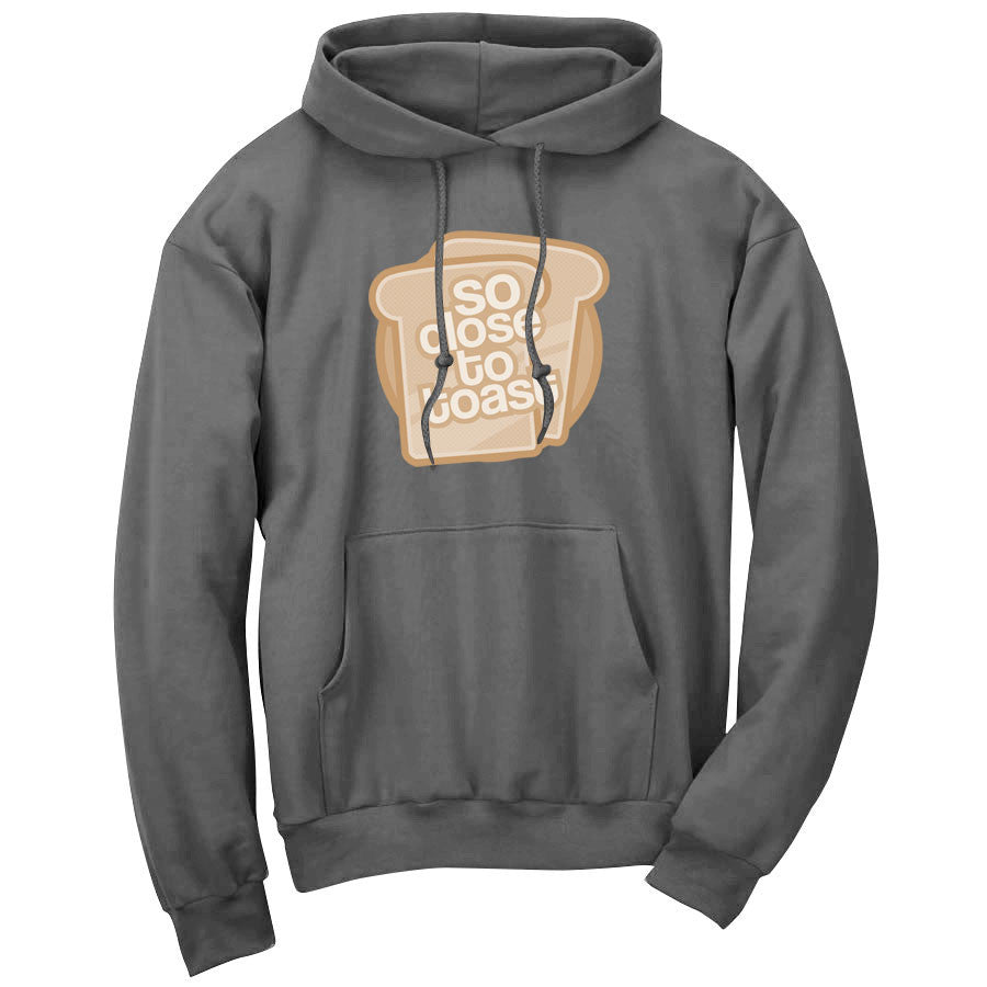SoCloseToToast Breadies FX Hoodie - Chcl