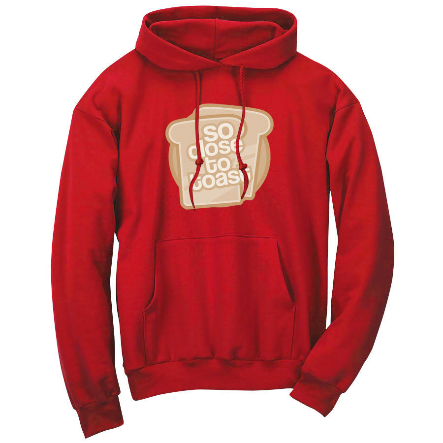 SoCloseToToast Breadies FX Hoodie - Red