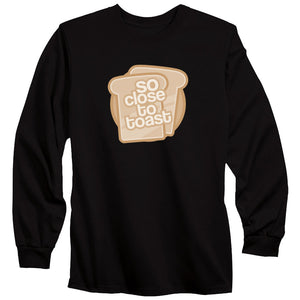 SoCloseToToast Breadies FX Long Sleeve - Blk