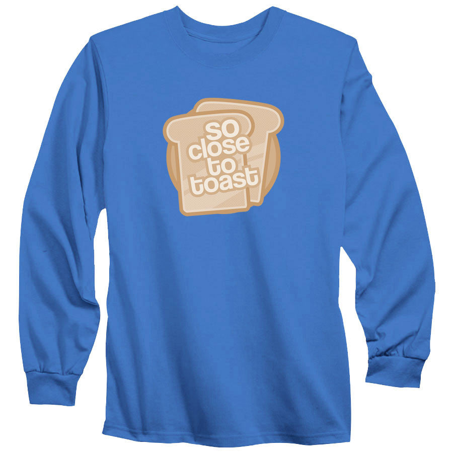 SoCloseToToast Breadies FX Long Sleeve - CBlu