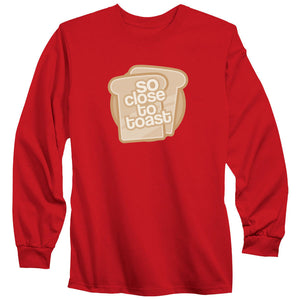 SoCloseToToast Breadies FX Long Sleeve - Red