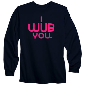 SoCloseToToast I Wub You Long Sleeve - NPnk on Nvy