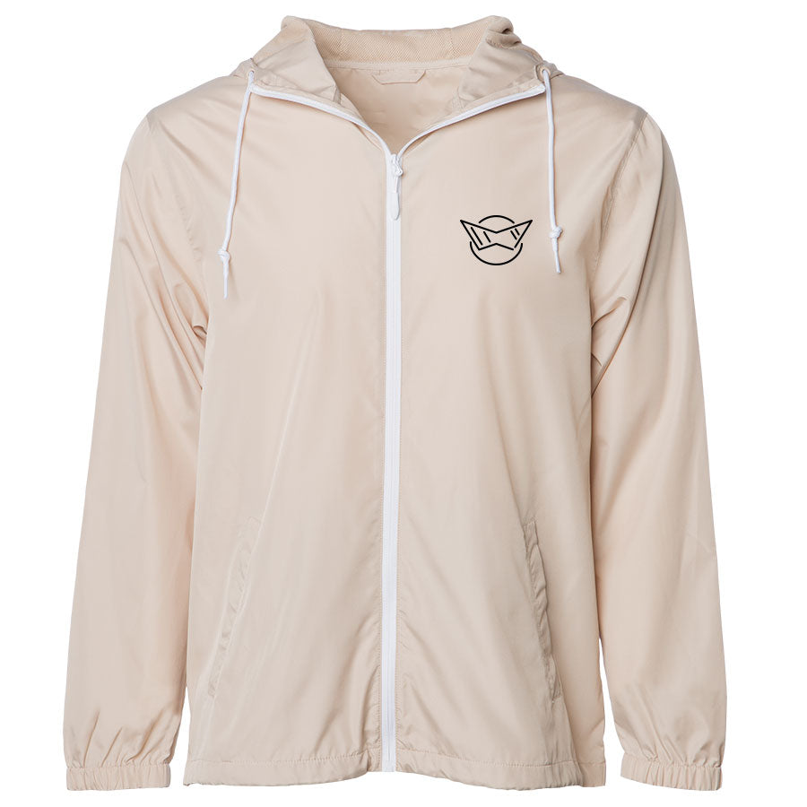 Sasslyn Icon Heart Combo Lightweight Windbreaker