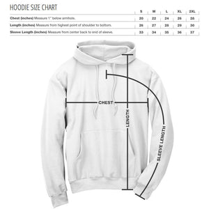 Replays DoubleUp Hoodie - WhtRed on Blk