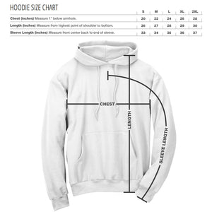 JEric Cut Out FX  Rose Hoodie