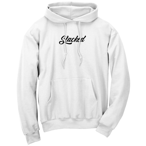 Slacked Script Embroidered Combo Hoodie