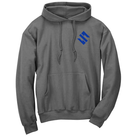 Slacked Icon Heart Hoodie - Ryl on Chcl