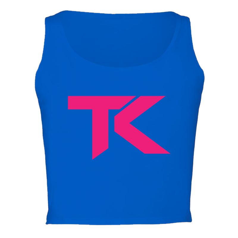 Team Kaliber TK Girls Crop Tank