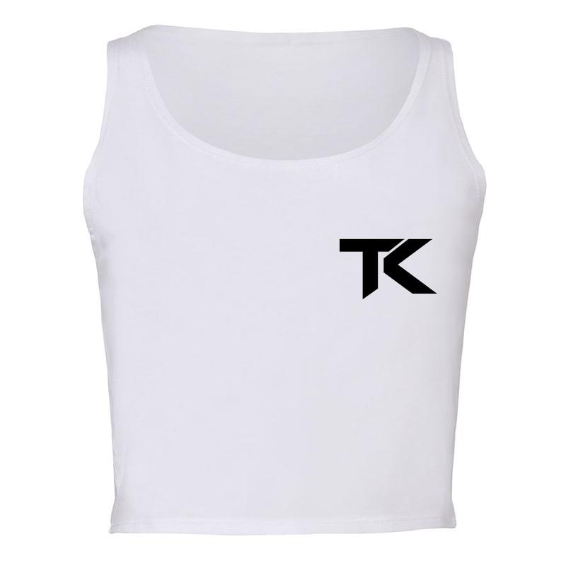Team Kaliber TK Heart Girls Crop Tank