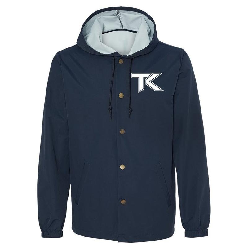 Team Kaliber Icon Hooded Coaches Jacket
