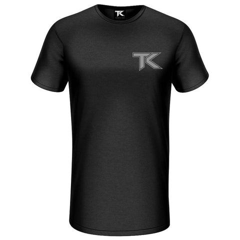 Team Kaliber Premium Label Extra Long Short Sleeve - Gry on Blk