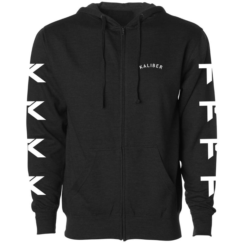 Team Kaliber Arc Heart Zip Up Hoodie