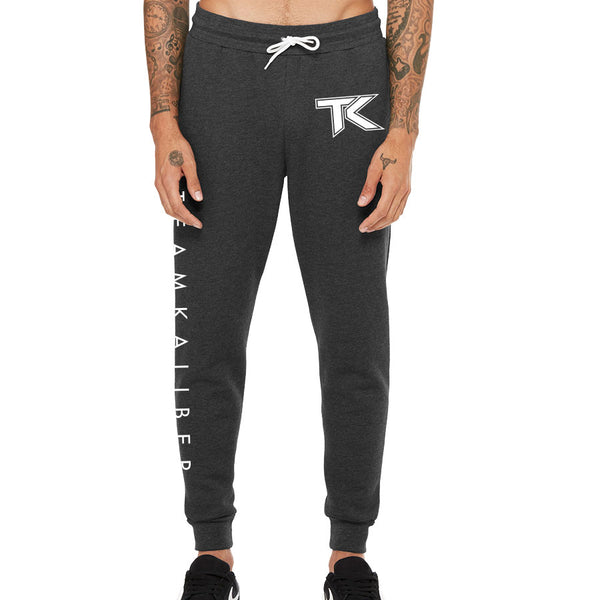 Team Kaliber Icon Combo Joggers - Wht on ChclHthr