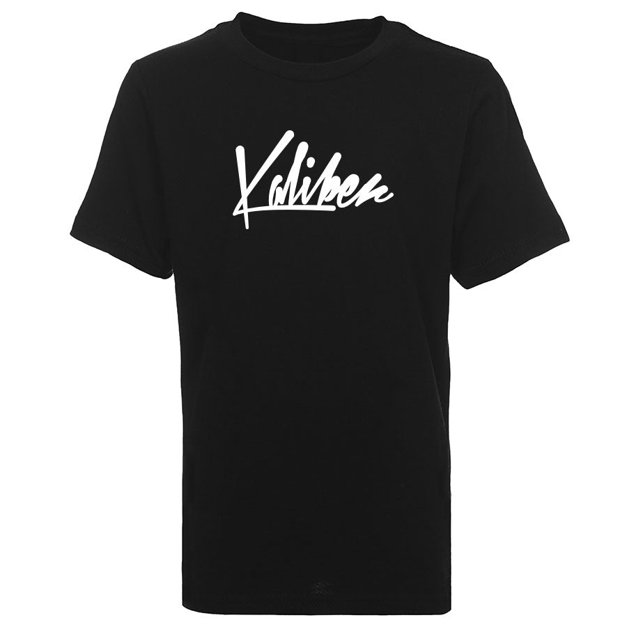 Team Kaliber Script Youth Short Sleeve