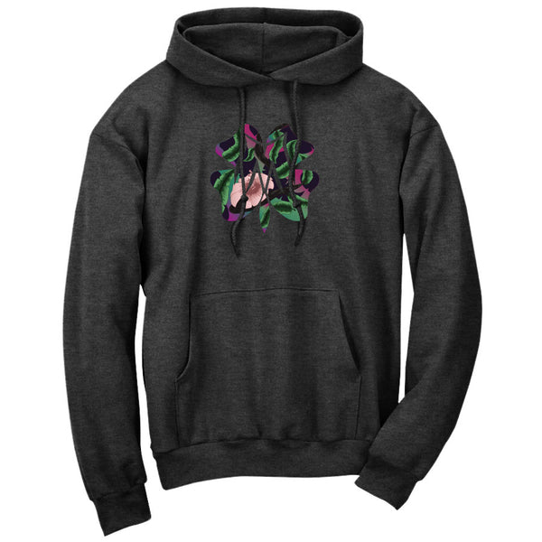 Master of Luck Icon FX Floral Hoodie - ChclHthr