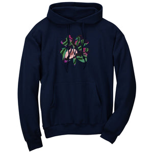 Master of Luck Icon FX Floral Hoodie - Nvy
