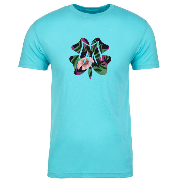 Master of Luck Icon FX Floral Short Sleeve - TBlu