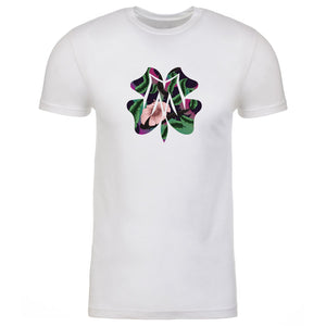 Master of Luck Icon FX Floral Short Sleeve - Wht