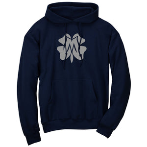 Master of Luck Icon Hoodie - Gry on Nvy