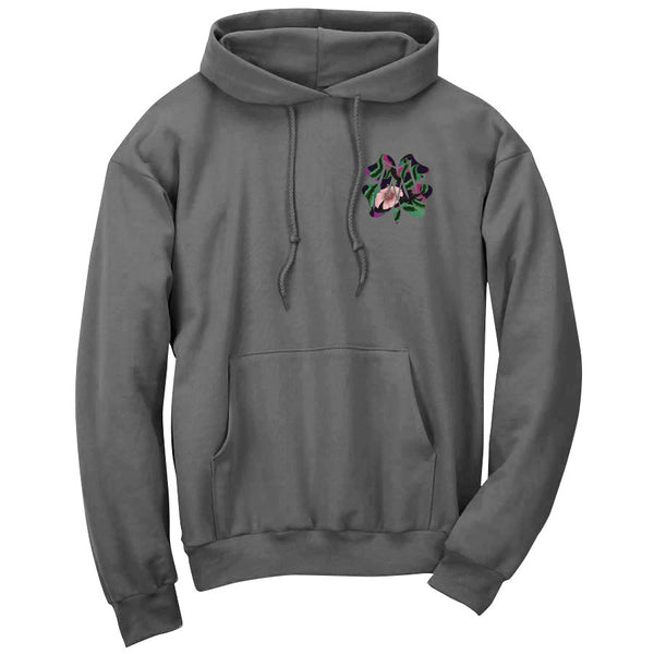 Master of Luck Icon Heart FX Floral Hoodie - Chcl