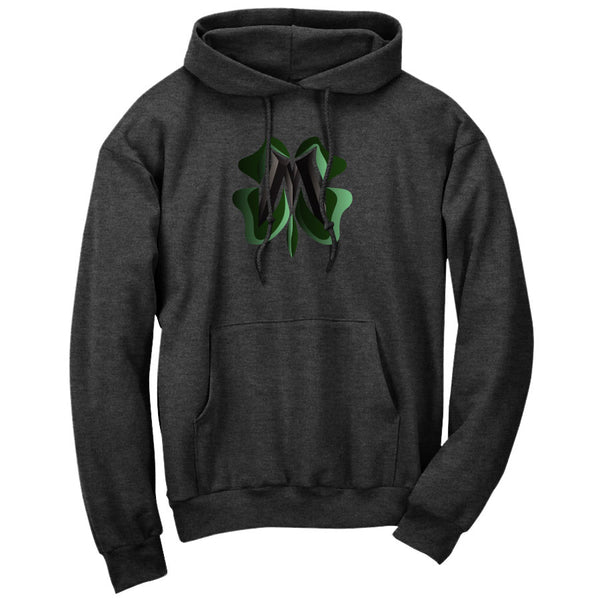 Master of Luck Clover FX Hoodie - ChclHthr