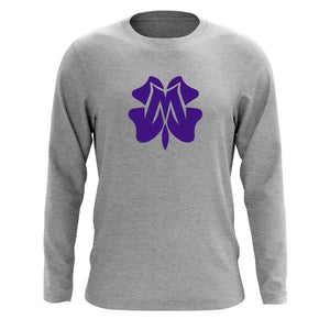 Master of Luck Icon Long Sleeve - Prp on SprtGry