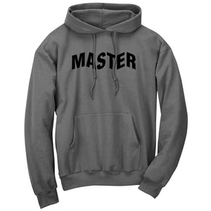 Master of Luck Logo Hoodie - Blk on Chcl