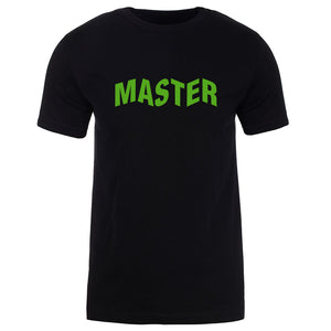 Master of Luck Logo Short Sleeve - Grn on Blk
