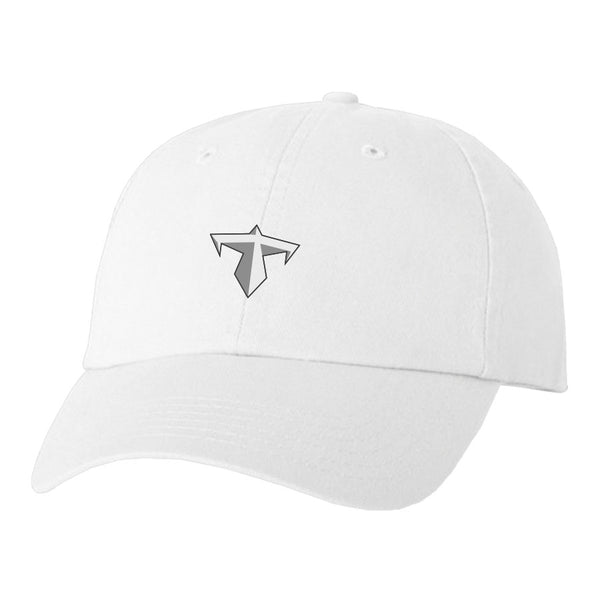 Thief Dad Hat - GryWht on Wht